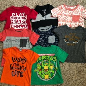 Lot of 2t toddler boys tees